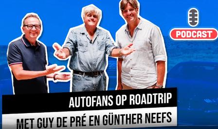 Auto podcast Autofans Guy De Pré Günther Neefs