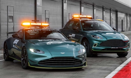 Aston Martin F1 safety car 2021