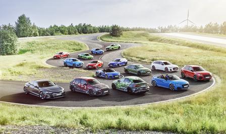 Audi RS hybride elektrisch