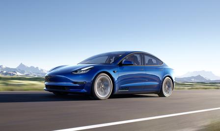 Hertz Tesla Model 3