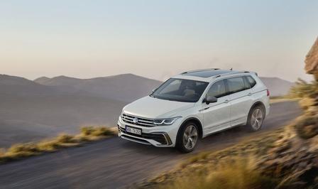 VW Tiguan Allspace facelift (2021)