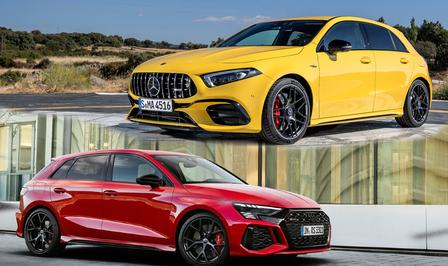 Audi RS 3 vs Mercedes-AMG A 45 S