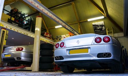 Ferrari 550 villa Schilde