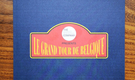 Le Grand Tour de Belgique reisboek