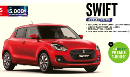 Suzuki Swift autosalon 2019 saloncondities
