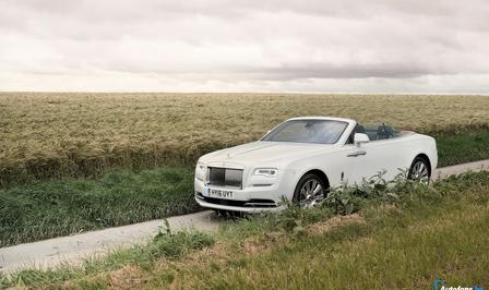 Rijtest Rolls-Royce Dawn
