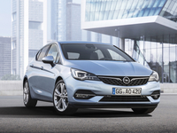 Opel Astra facelift motoren