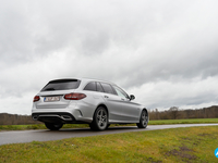 Mercedes C 300 de break plug-in rijtest review 2020