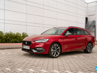 Seat Leon 2020 rijtest Break hatchback video