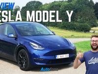 Tesla Model Y Review belgie vlaams