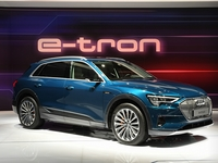 Audi E-Tron autosalon Brussel 2019