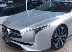 Mercedes SL 2019 rendering