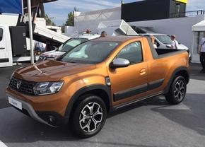 Dacia Duster pickup 2019