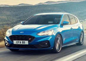 ford focus st render 2018