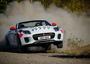 jaguar f-type rally 2018