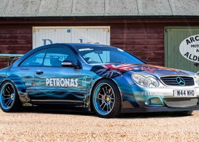 lewis hamilton mercedes cl500 Tribute