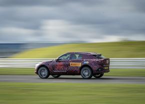 Aston Martin DBX SUV teaser