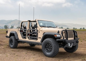 Jeep Gladiator Extreme Military-grade Truck