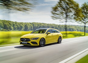 mercedes amg cla 35 shooting brake 2019