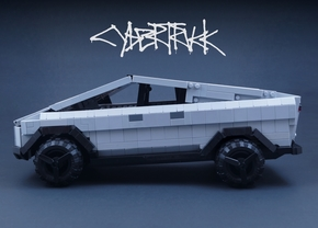 Tesla Cybertruck Lego Set Lego Idea
