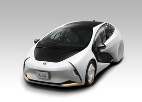 Toyota LQ concept 2019 Tokyo