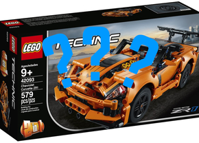 lego technics corvette 2019