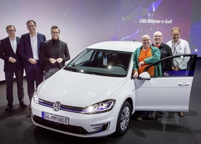volkswagen e-golf 100000