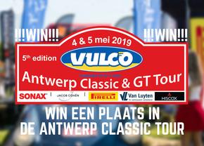 Antwerp Classic car event Classic Tour win