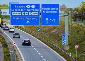 Duitsland autobahn maximumsnelheid