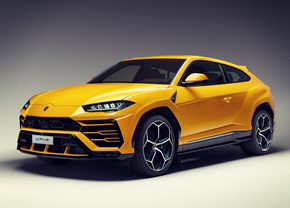 Lamboghini SUV Coupe 2 Door