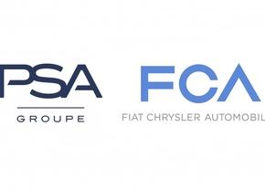 PSA FCA fusie