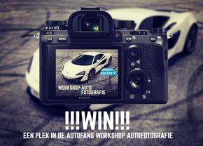 Win Autofans Workshop autofotografie