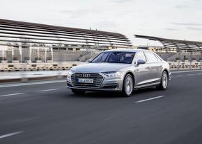 Audi A8 AI Traffic Jam Pilot autonoom rijden