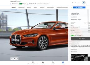 BMW 4 Reeks configurator belgie