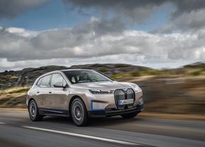 BMW iX elektrische SUV 2020