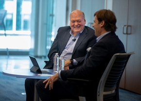 Ford CEO Jim Hackett Jim Farley