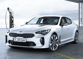 Kia Stinger PHEV Plug-in Render