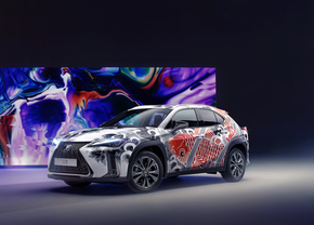 Lexus UX Tattoo Car 2020