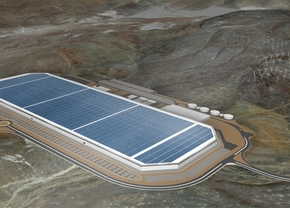 Tesla battery production Corona