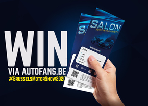 Win ticktets Autosalon Brussel 2020 Autofans