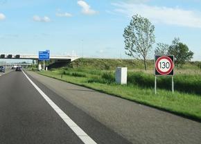 Nederland snelweg maximumsnelheid