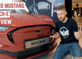 Ford Mustang Mach E video Autofans