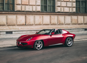 Alfa Romeo Disco Volante Spyder auction (2021)