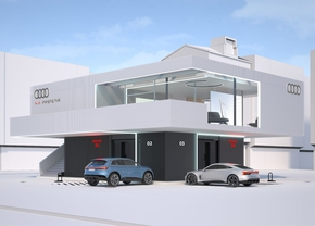 Audi charging hub 2021