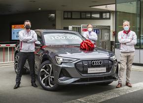 Audi e-tron 100 000 Forest