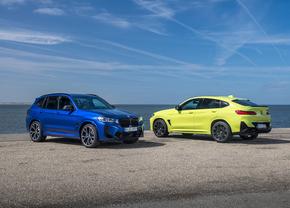 BMW X3 M & X4 M facelift 2021