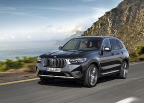 BMW X3 facelift 2021