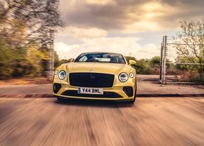 Bentley Contintal GT Drifting