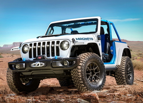 Jeep Wrangler Magneto Concept 2021