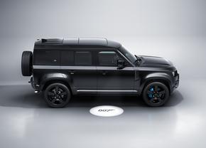Land Rover Defender V8 Bond Edition profiel